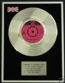 "THE KINKS - 7"" Platinum Disc - AUTUMN ALMANAC"